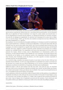 Article Laurent Brun - Jazz Rhône Alpes